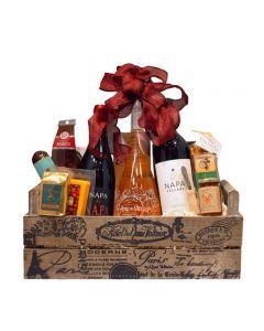 Gift Basket Triple Wine
