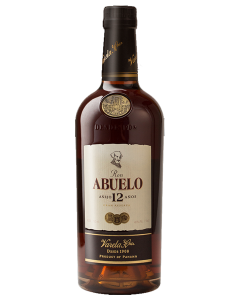 Abuelo 12 Years Añejo Rum
