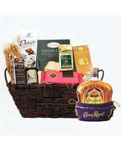 Crown Royal 750 Ml, Basket