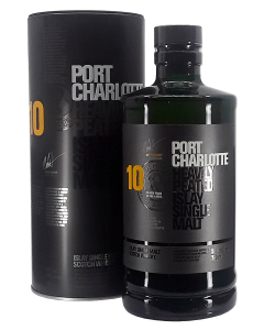 Bruichladdich Port Charlotte Heavily Peated 10 Years Old