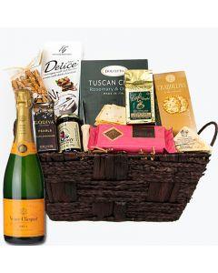 Veuve Cliquot Gift Basket