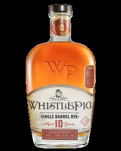 Whistlepig 10 Years Single Barrel Straight Rye Whiskey